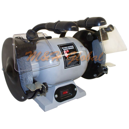 Double 6 Quot Wheel Bench Grinder 1 2 Hp 3550 Rpm With