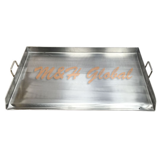 32 Stainless Steel Griddle Flat Top Grill For Double